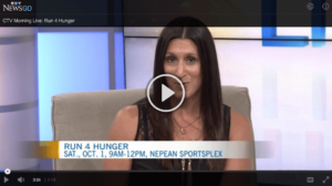CTV Run 4 Hunger Video
