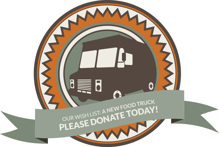 Please Donate Now For Truck Icon