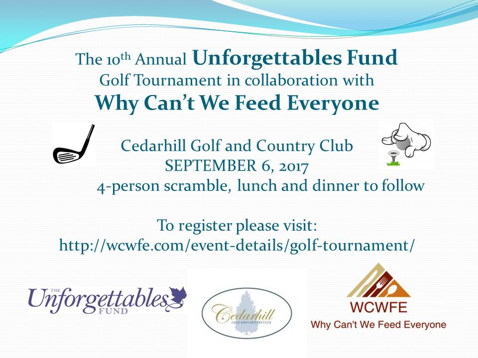 WCWFE Golf Tournament 2017